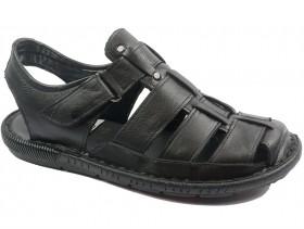 obuvki-Мъжки сандали черни 10564