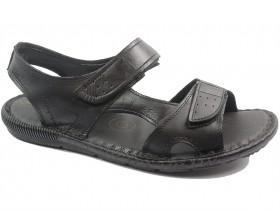 obuvki-Мъжки сандали черни 10565