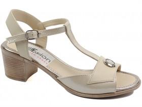 Дамски сандали бежови 10571