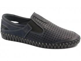 obuvki-Мъжки обувки сини 10578