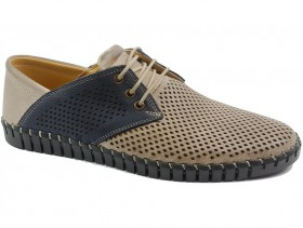 Мъжки обувки бежови 10579 - obuvki