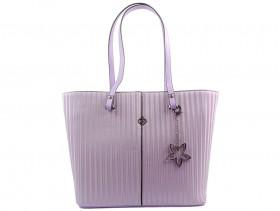 Дамска чанта лилава 10591 - obuvki