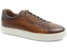 Мъжки обувки кафяви 10608