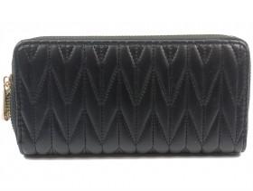Дамско портмоне черно 10656
