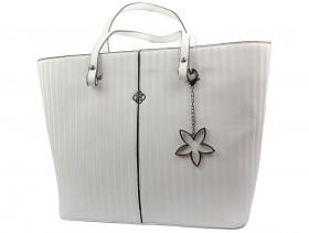 Дамска чанта бяла 10718 - obuvki