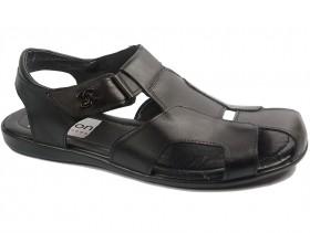 obuvki-Мъжки сандали черни 10748