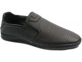 obuvki-Мъжки обувки черни 10750