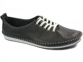 obuvki-Дамски обувки черни 10754