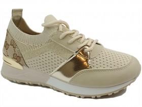 Дамски обувки бежови 10785 - obuvki