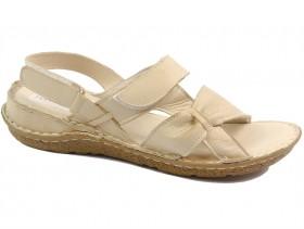 Дамски сандали бежови 10797