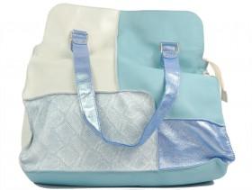 Дамска чанта синя 10801