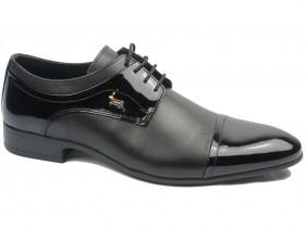 obuvki-Мъжки обувки черни 10841