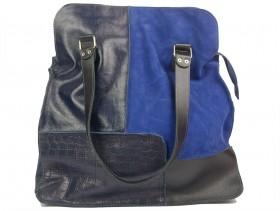 obuvki-Дамска чанта синя 10867