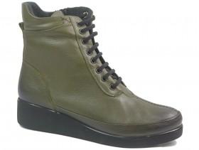 Дамски боти зелени 10875