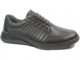 Мъжки обувки черни XXL 10880