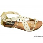 обувки - Дамски сандали бели 3066