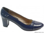 обувки - Дамски обувки сини 5262