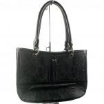 обувки - Дамска чанта черна 6816