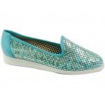 обувки - Дамски обувки сини 6898