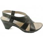 обувки - Дамски сандали черни 7022