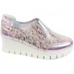 обувки - Дамски обувки розови 7626