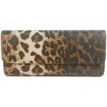 обувки - Дамска чанта леопард 7700