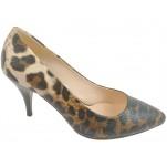 обувки - Дамски обувки леопард 7702