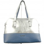 обувки - Дамска чанта синя 7976