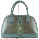 обувки - Дамска чанта тюркоаз 8187