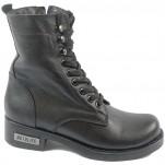 обувки - Дамски боти черни 8279